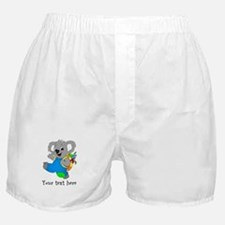 Personalize it - Koala Bear with backpack Boxer Sh
