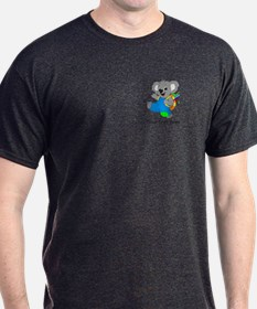 Personalize it - Koala Bear with backpack T-Shirt