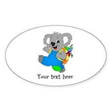 Personalize it - Koala Bear with backpack Decal