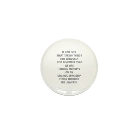 Taking Things Too Seriously Mini Button (10 pack)