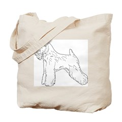 Just a Wheaten! Tote Bag