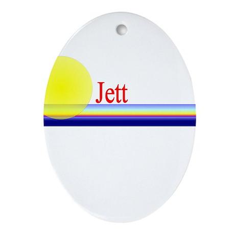 Jett Oval Ornament