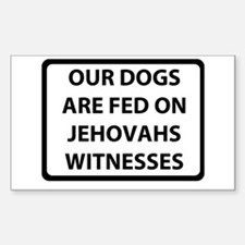 Jehovah's Witnesses Decal