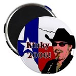 "Texas Governor '06 2.25"" Magnet (10 pack)"