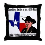 Texas Governor '06 Throw Pillow