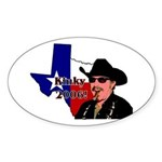 Texas Governor '06 Oval Sticker