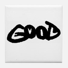Good vs. Evil Tile Coaster