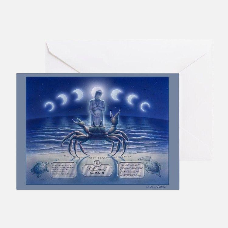 Cancer Art Greeting Card