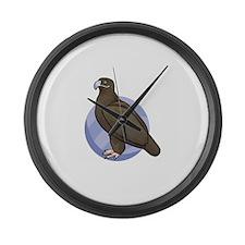 Bird Large Wall Clock