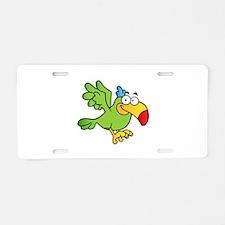 Bird Aluminum License Plate