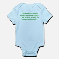 Emotionless Robot Infant Bodysuit