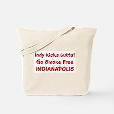 Indy kicks butts! Tote Bag