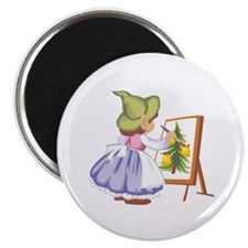 "Painting 2.25"" Magnet (100 pack)"