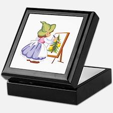 Painting Keepsake Box