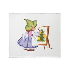 Painting Throw Blanket
