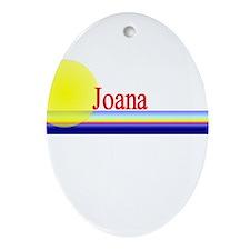 Joana Oval Ornament