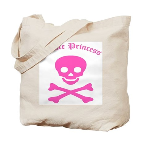 Pirate Princess Tote Bag