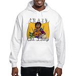Crazy Cat Lady [Black] Hooded Sweatshirt