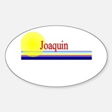 Joaquin Oval Decal