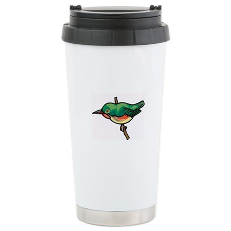 Bird Stainless Steel Travel Mug