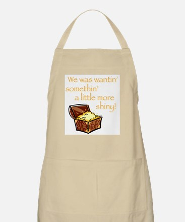 A Little More Shiny Treasure BBQ Apron