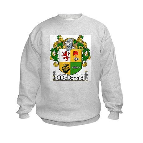 McDonald Coat of Arms Kids Sweatshirt