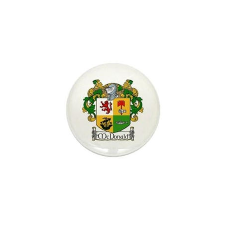 McDonald Coat of Arms Mini Buttons (10 pack)