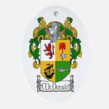 McDonald Coat of Arms Oval Ornament