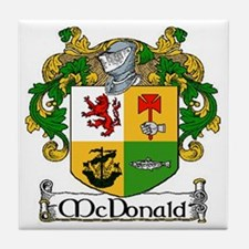 McDonald Coat of Arms Ceramic Tile