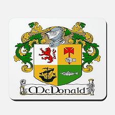 McDonald Coat of Arms Mousepad