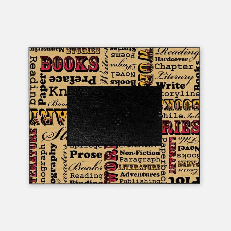 Books Books Books Picture Frame