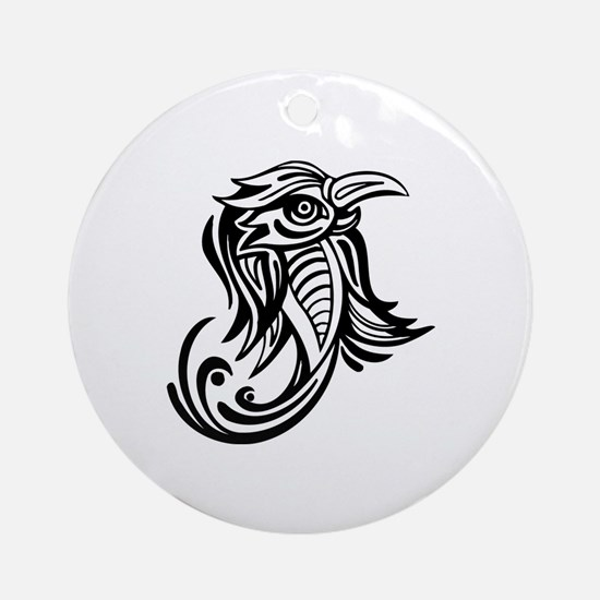 Bird Ornament (Round)