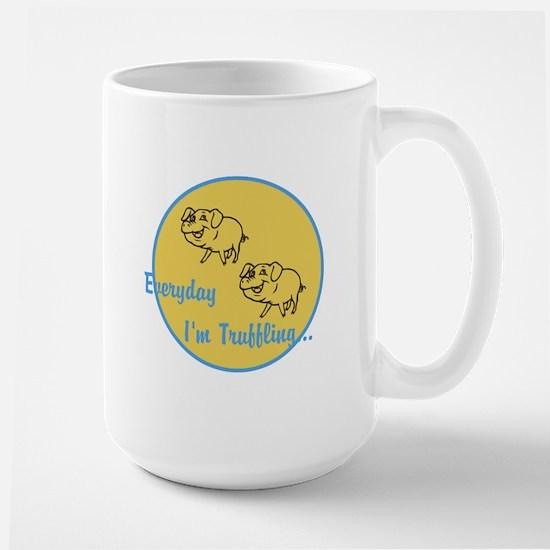 Truffling Large Mug
