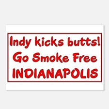 Indy kicks butts! Postcards (Package of 8)