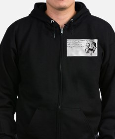 Warning Labels... Zip Hoodie