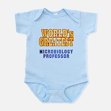 World's Greatest Microbiology Professor Infant Bod