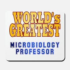 World's Greatest Microbiology Professor Mousepad