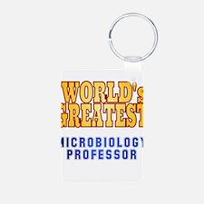 World's Greatest Microbiology Professor Keychains