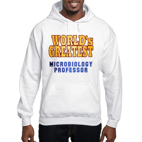 World's Greatest Microbiology Professor Hooded Swe