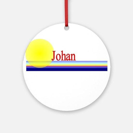 Johan Ornament (Round)