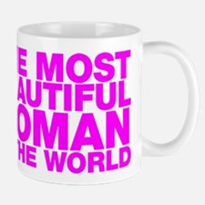 The Most Beautiful Woman in the World Small Mugs