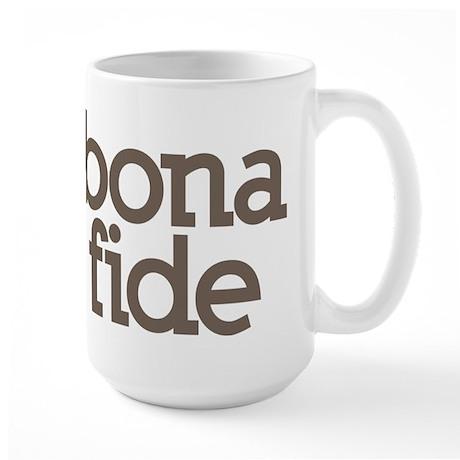 bona fide Large Mug