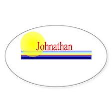 Johnathan Oval Decal
