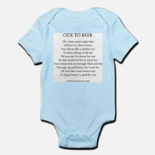 Ode To Beer Infant Bodysuit