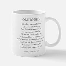 Ode To Beer Mug