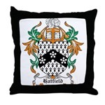 Hatfield Coat of Arms Throw Pillow