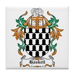 Haskell Coat of Arms Tile Coaster