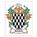Haskell Coat of Arms Small Poster