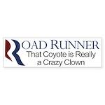 Road Runner Romney-Ryan Sticker (Bumper)