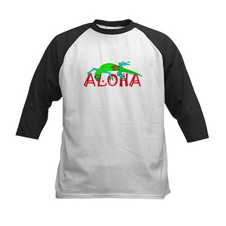 Gecko Aloha Kids Baseball Jersey